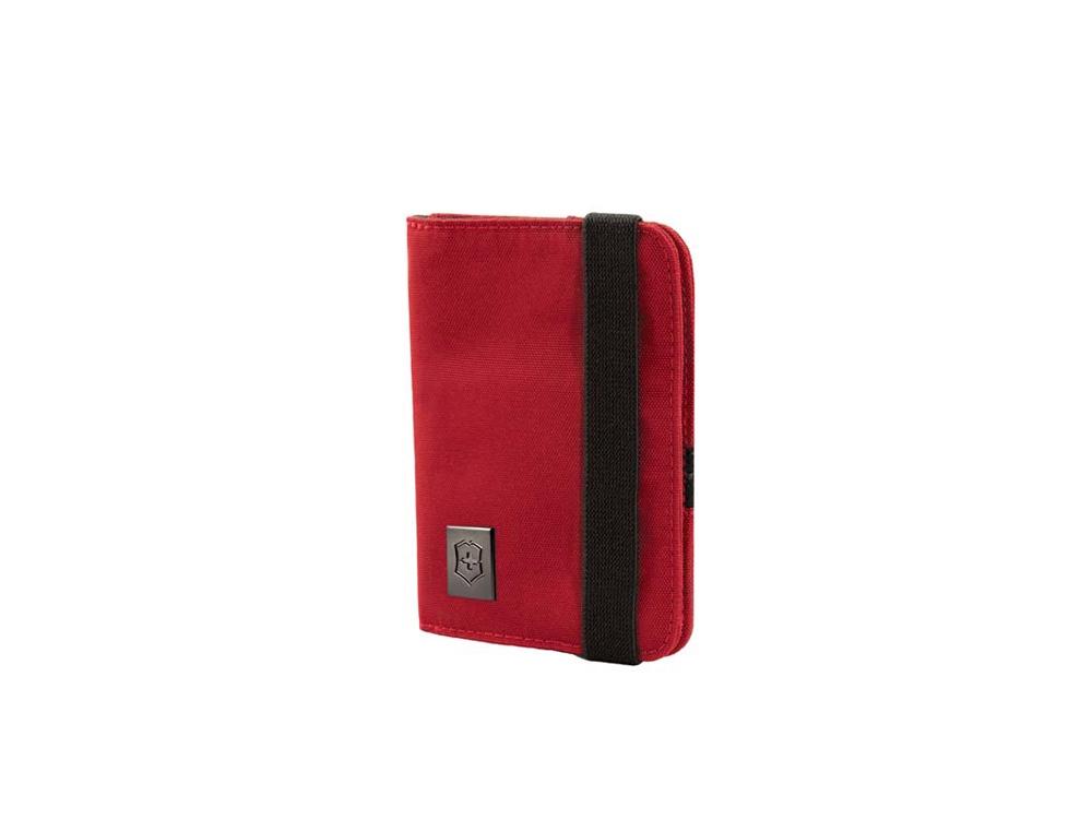 Обложка для паспорта с защитой от сканирования RFID, красный