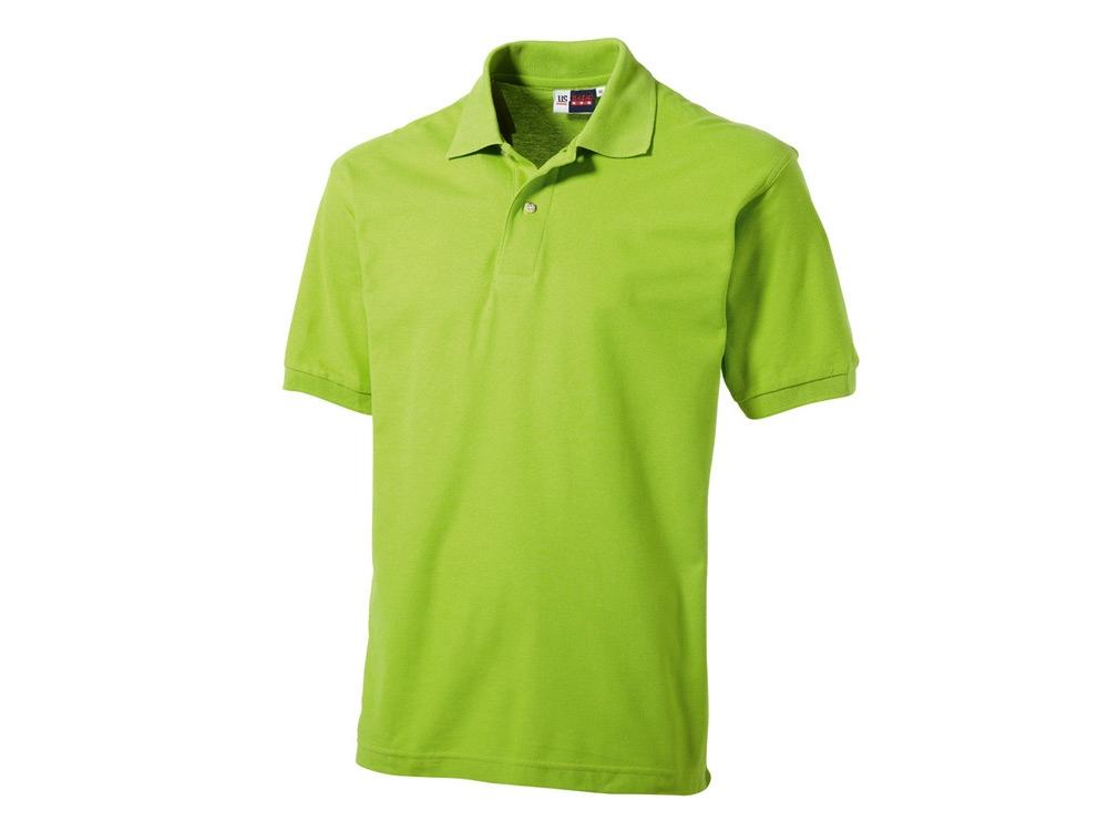 Рубашка поло Boston C мужская, зеленое яблоко