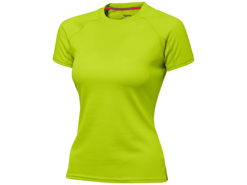 Футболка Serve женская, зеленое яблоко