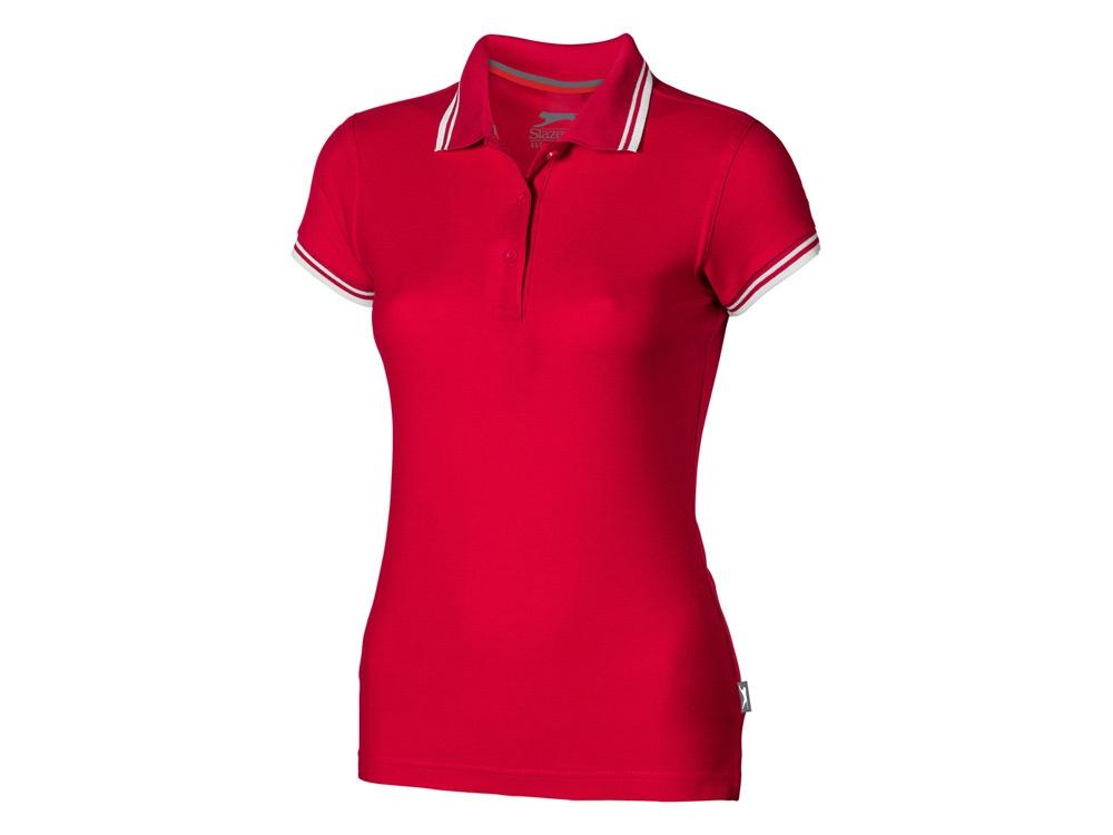 Рубашка поло Deuce женская, красный