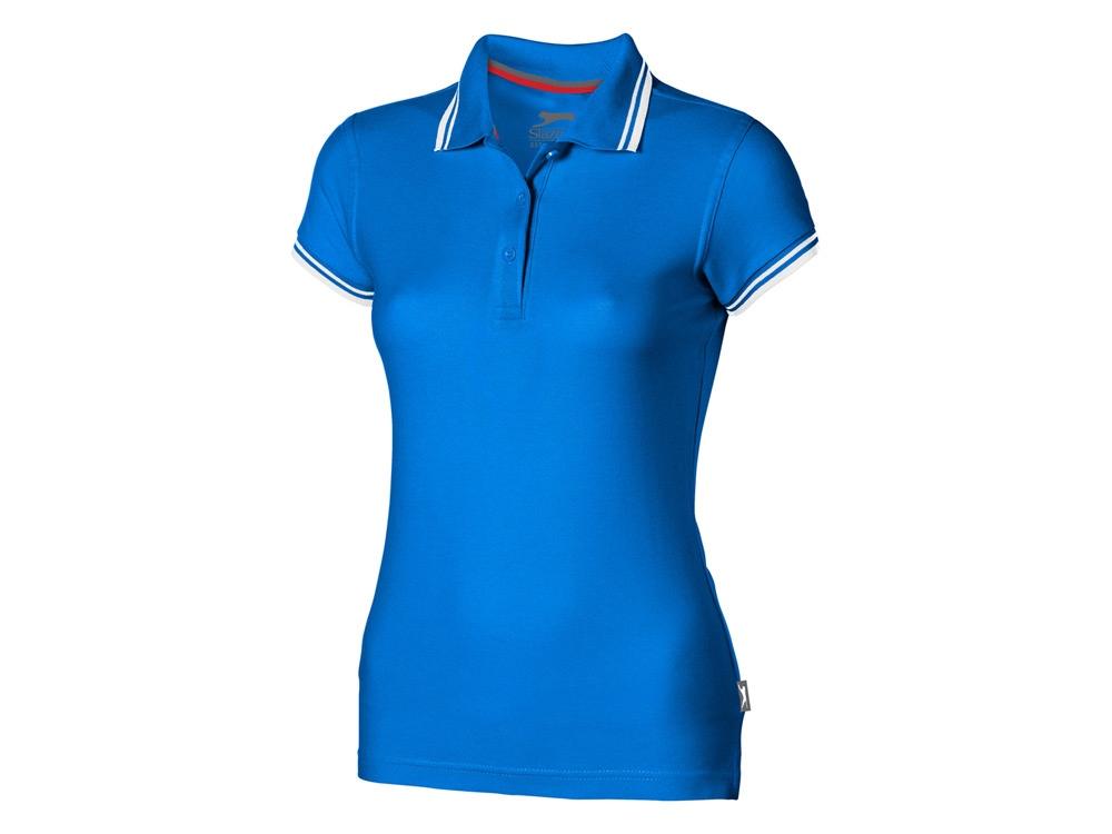 Рубашка поло Deuce женская, небесно-голубой