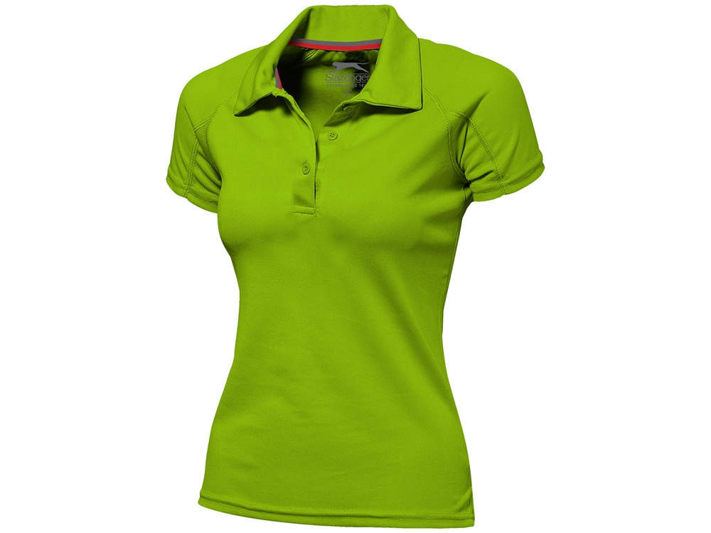 Рубашка поло Game женская, зеленое яблоко