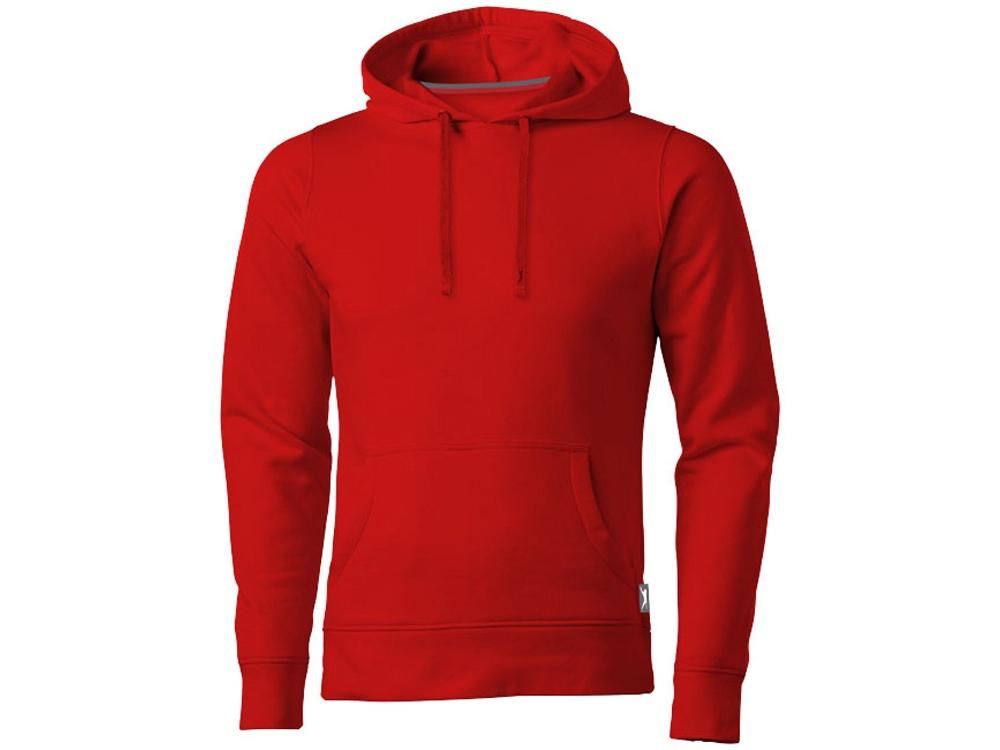 Толстовка «Alley» мужская с капюшоном, красный