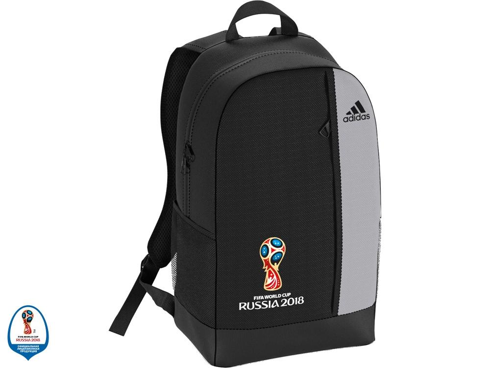 Рюкзак FWC Emblem. adidas, черный/серый