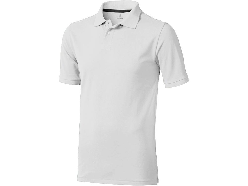 Рубашка поло Calgary мужская, белый