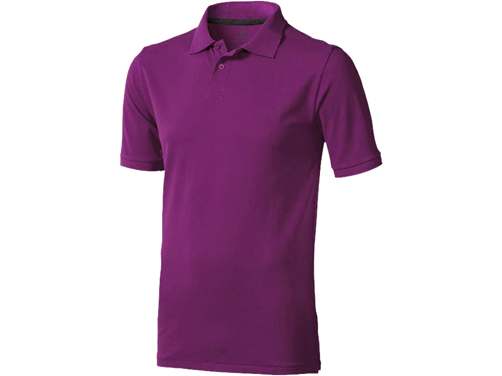 Рубашка поло Calgary мужская, темно-фиолетовый