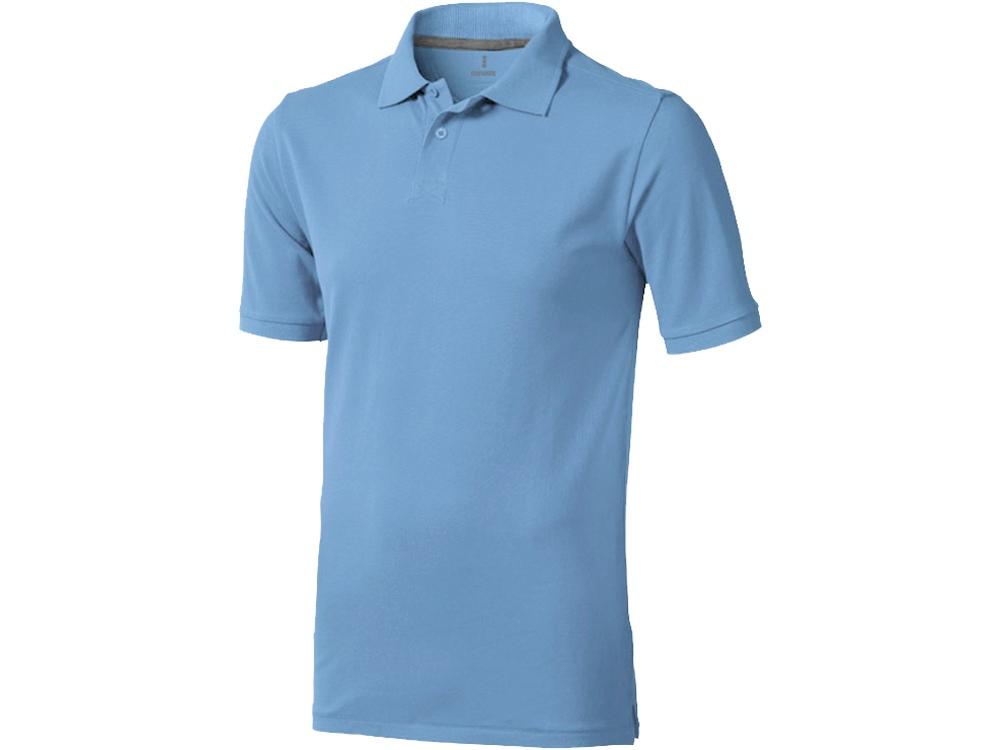 Рубашка поло Calgary мужская, голубой