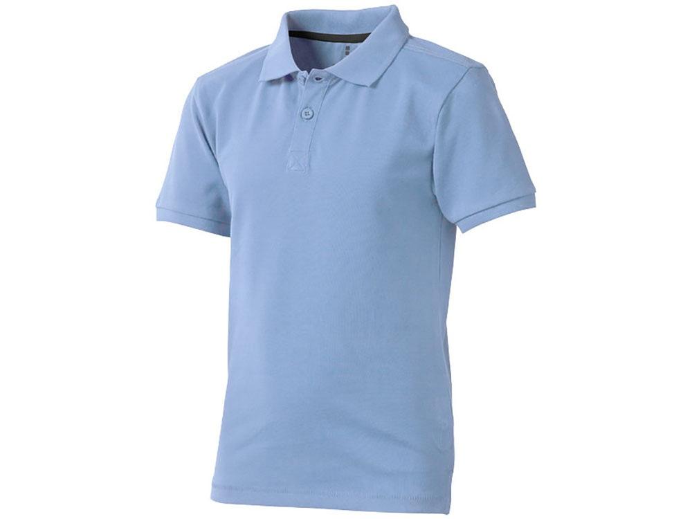 Рубашка поло Calgary детская, голубой