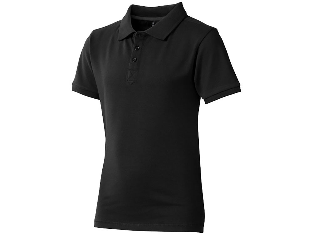 Рубашка поло Calgary детская, черный