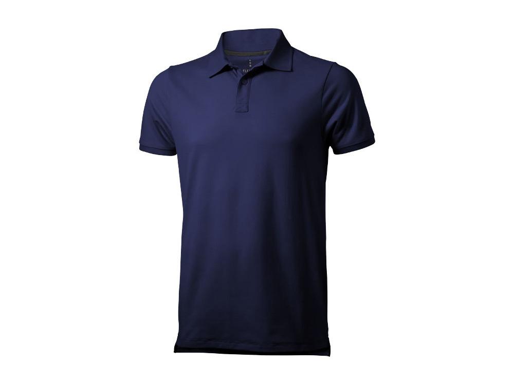 Рубашка поло Yukon мужская, темно-синий