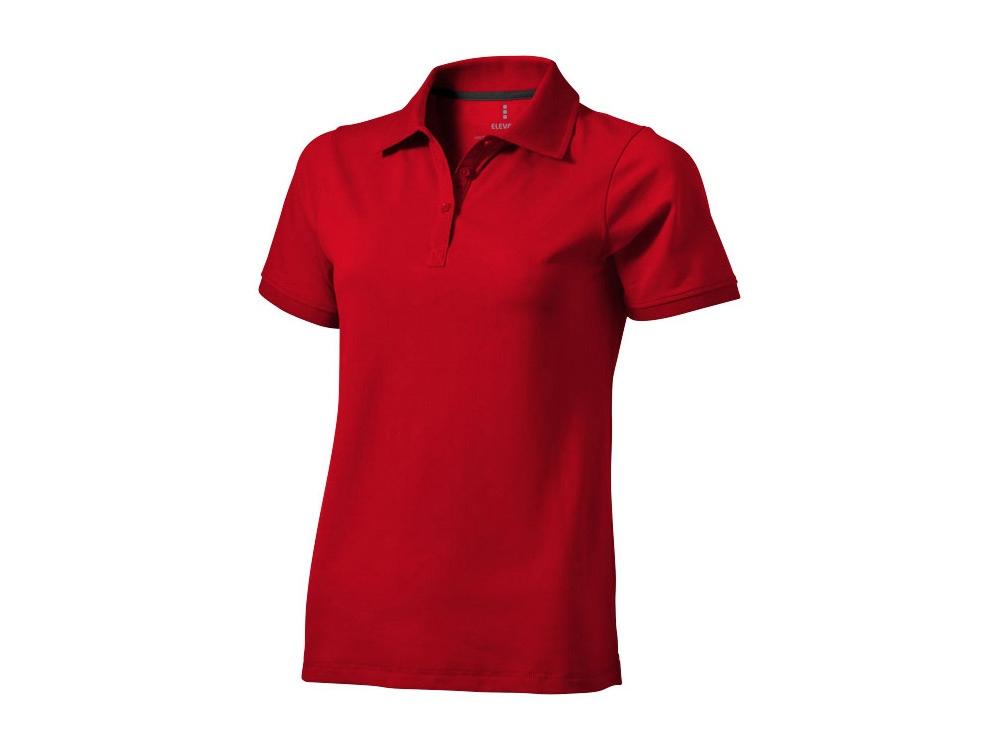 Рубашка поло Yukon женская, красный