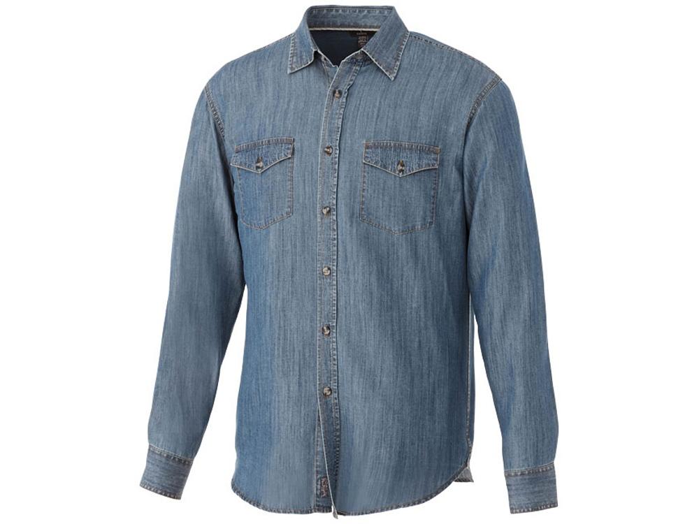 Рубашка Sloan с длинными рукавами мужская, джинс