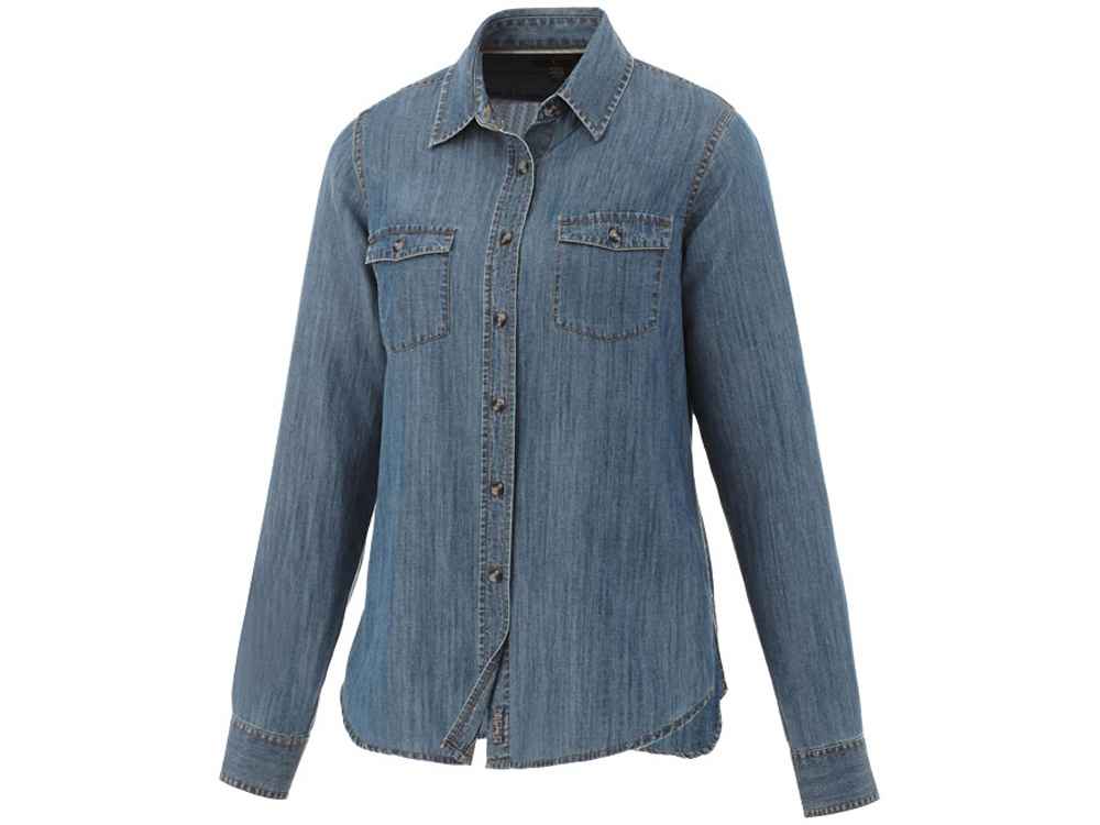 Рубашка Sloan с длинными рукавами женская, джинс