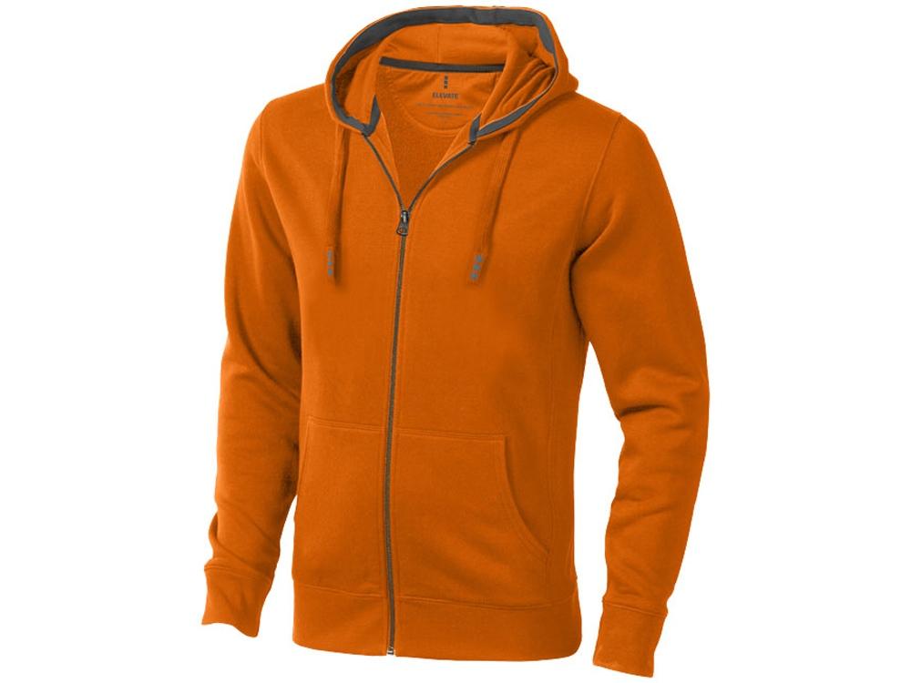 Толстовка «Arora» мужская с капюшоном, оранжевый