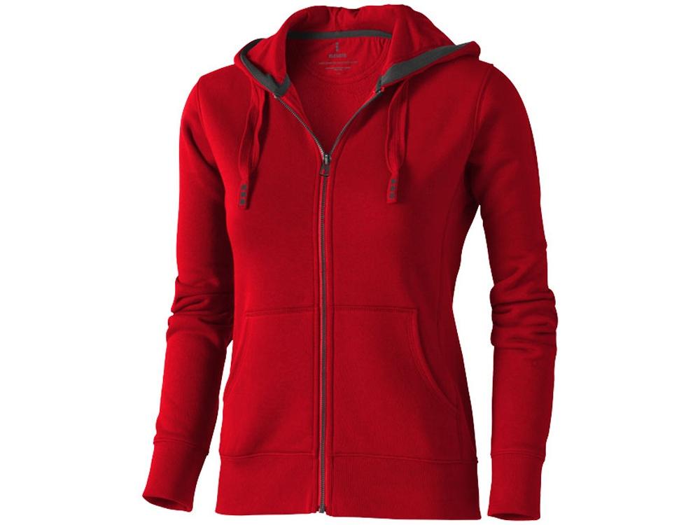 Толстовка «Arora» женская с капюшоном, красный