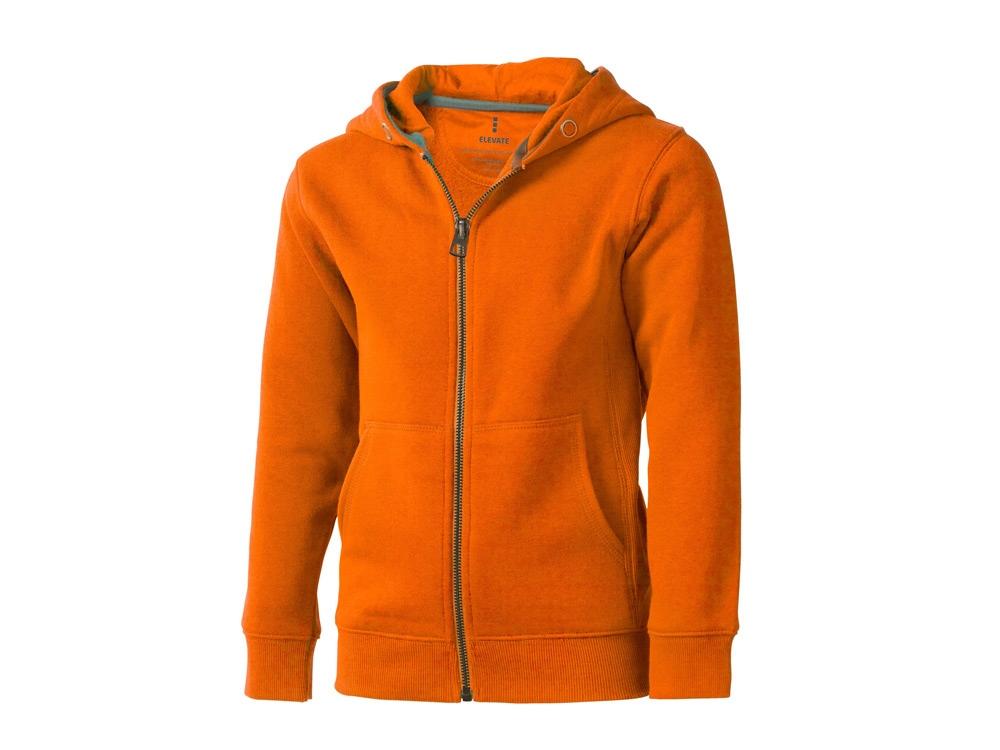 Толстовка «Arora» детская с капюшоном, оранжевый