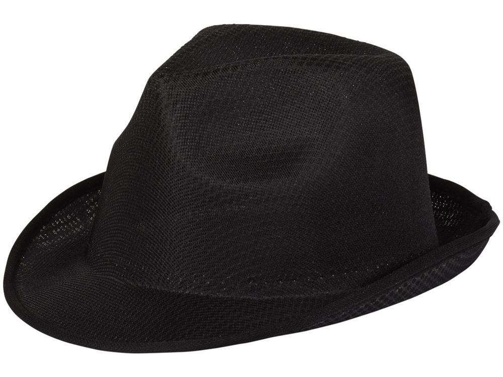 Шляпа Trilby, черный