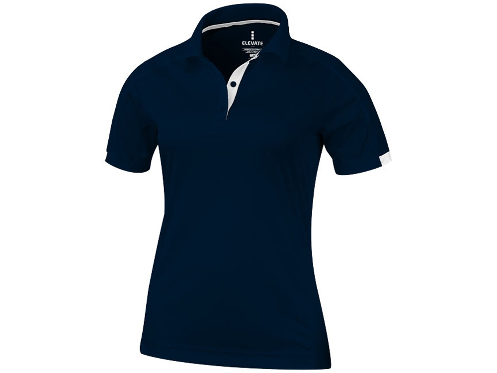 Рубашка поло Kiso женская, темно-синий