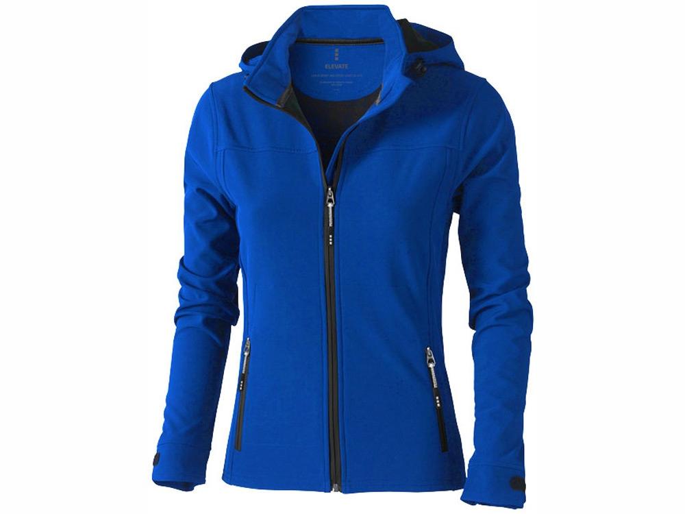 Куртка софтшел Langley женская, синий