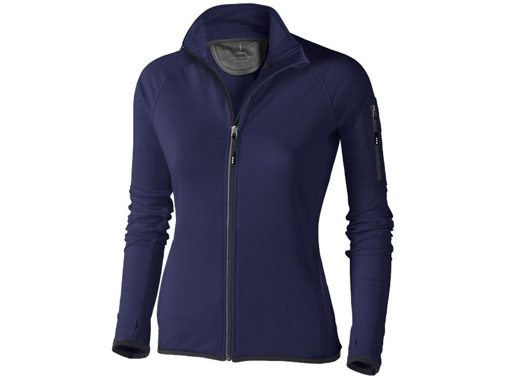 Куртка флисовая Mani женская, темно-синий