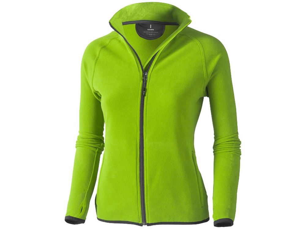 Куртка флисовая Brossard женская, зеленое яблоко