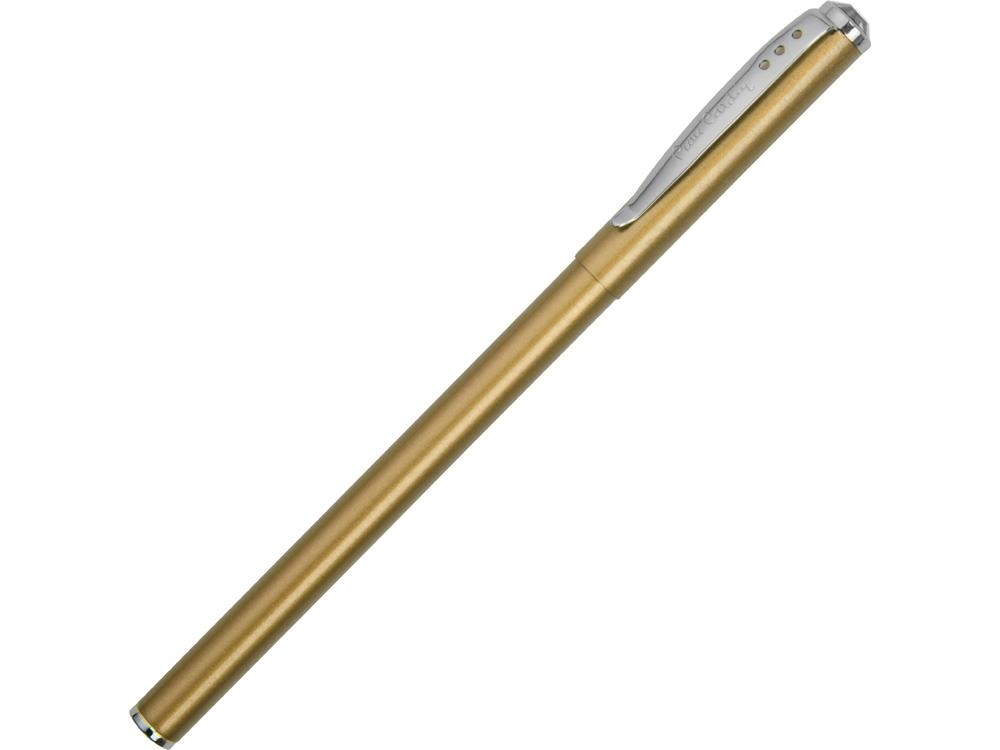 Ручка шариковая Actuel с колпачком. Pierre Cardin, бежевый металлик