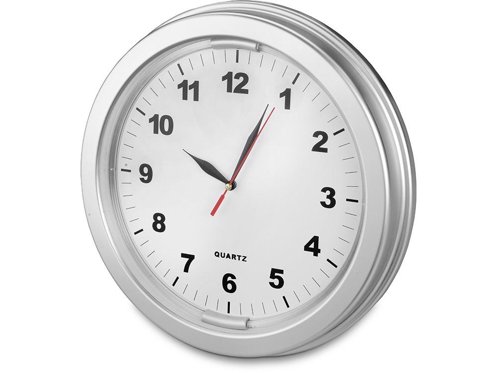 Часы настенные «Паламос», серебристый