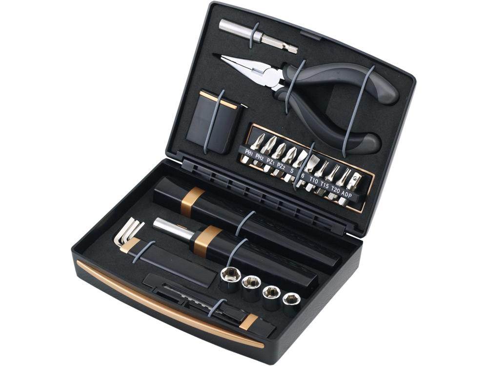 Набор инструментов c фонарем, 23 предмета