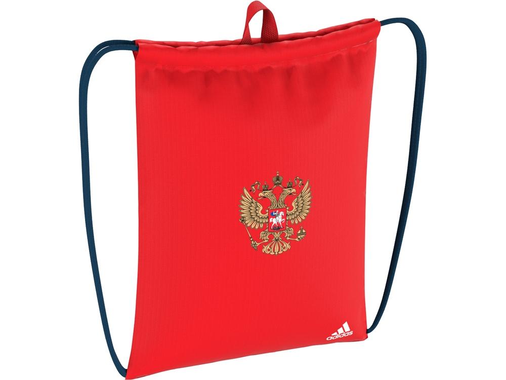 Сумка-мешок РОССИЯ. adidas, красный/синий