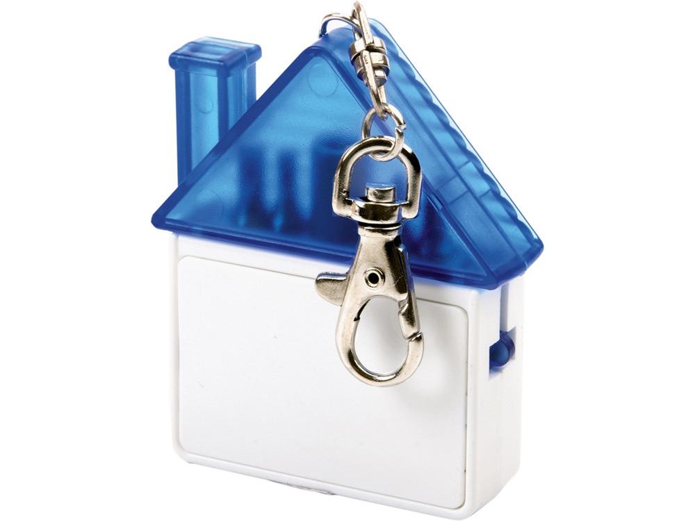 Набор отверток в виде домика с карабином, белый/синий