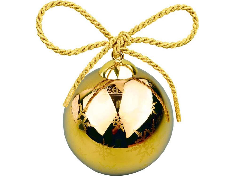 Рождественский шарик Versace «Gold», золотистый