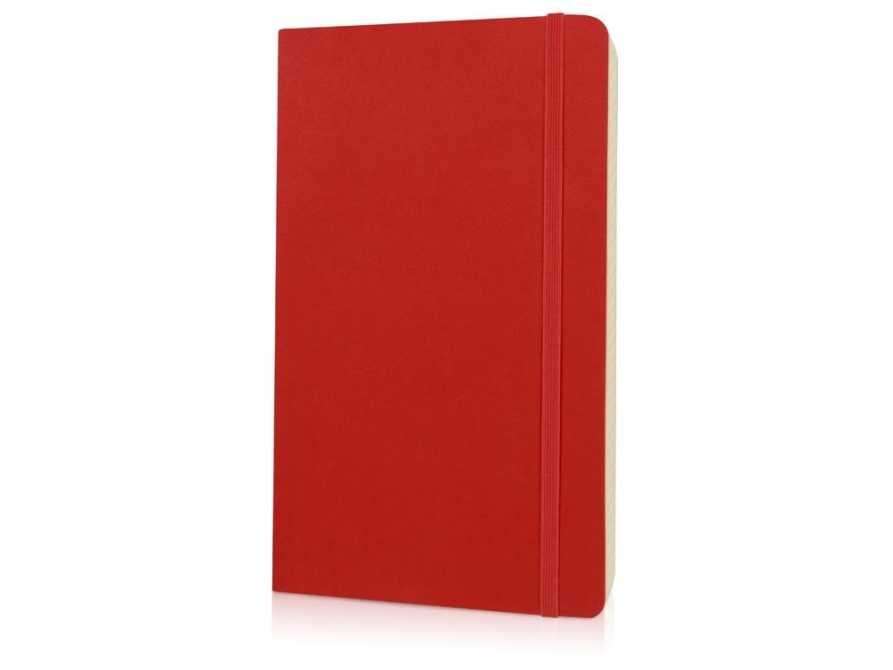 Записная книжка Moleskine Classic Soft (в линейку), Large (13х21см), красный