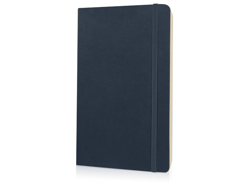 Записная книжка Moleskine Classic Soft (в линейку), Large (13х21см), сапфировый синий