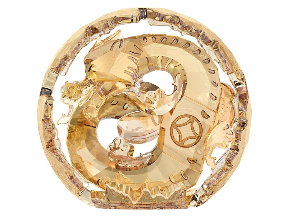 Китайский зодиак – Дракон, большой. Swarovski