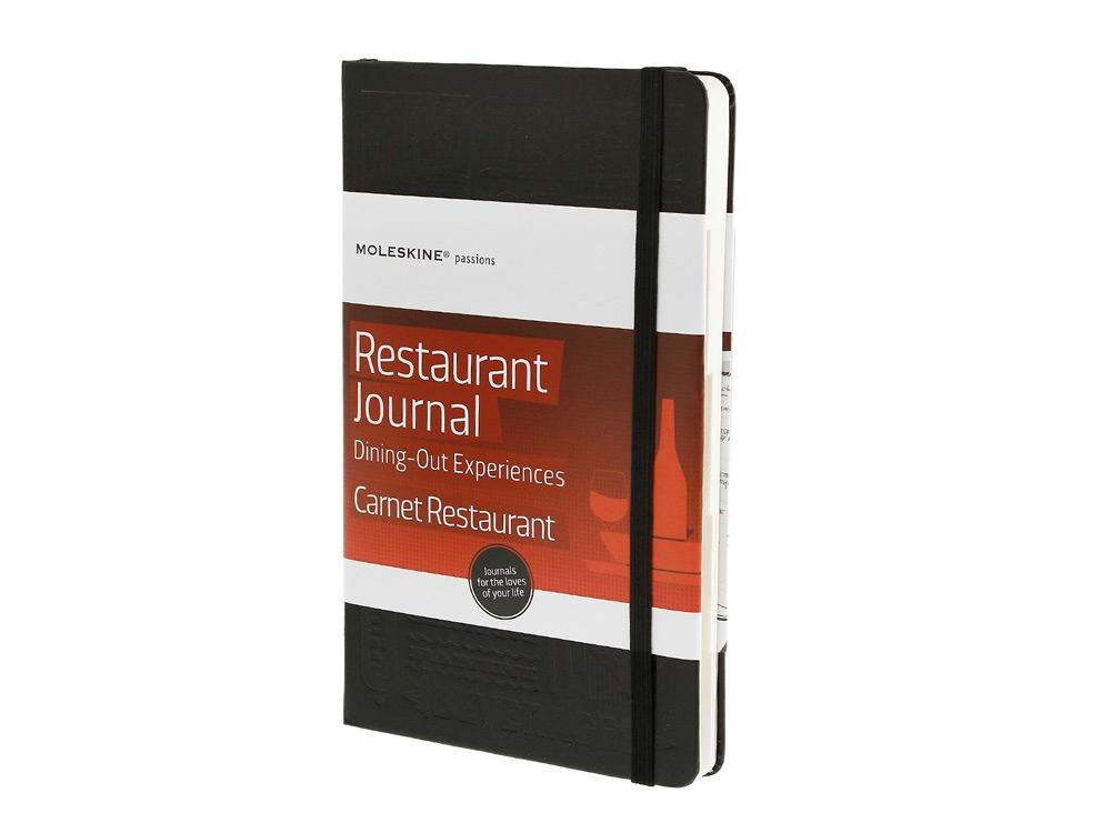 Записная книжка Moleskine Passion Restaurant (Рестораны), Large (13x21см), черный