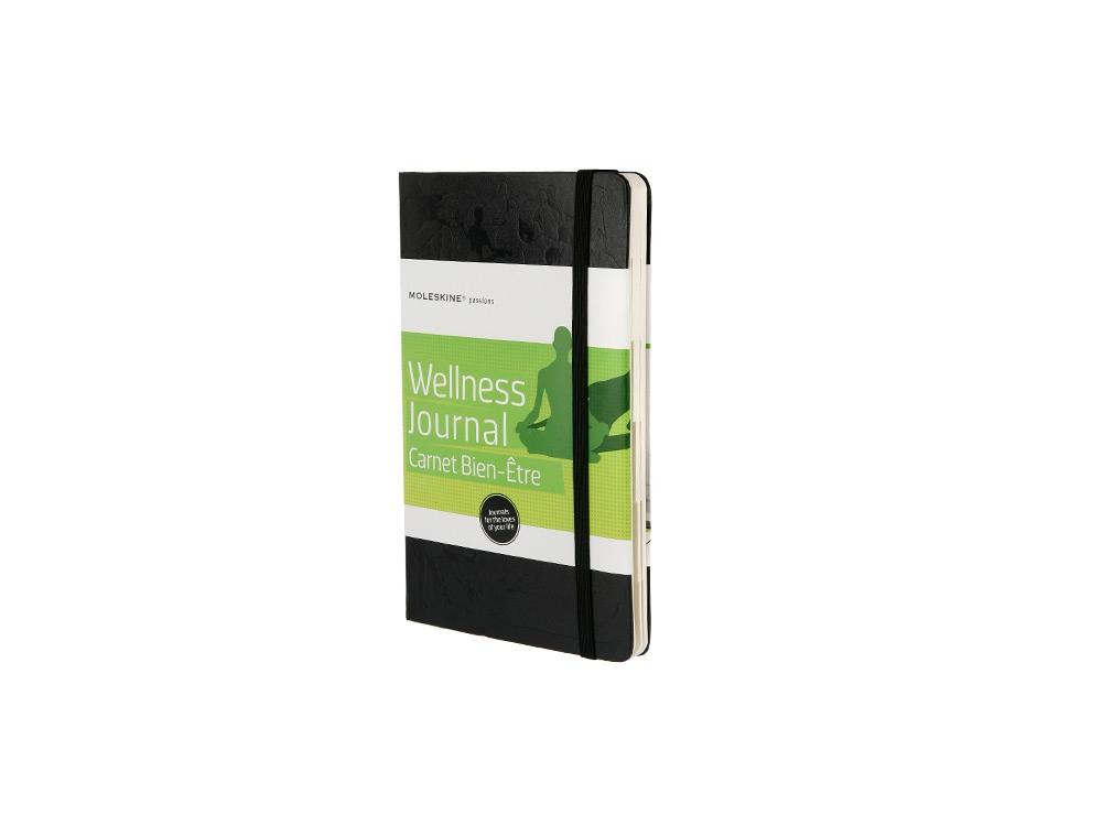 Записная книжка Moleskine Passion Wellness (Здоровье), Large (13x21см), черный