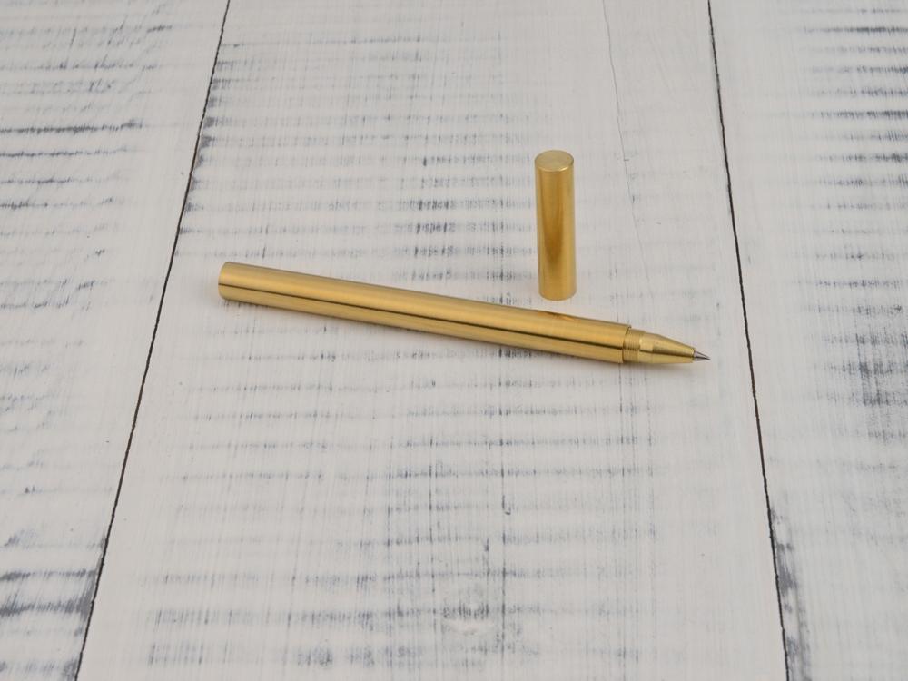 Ручка гелевая Перикл в подарочной коробке, золотистый