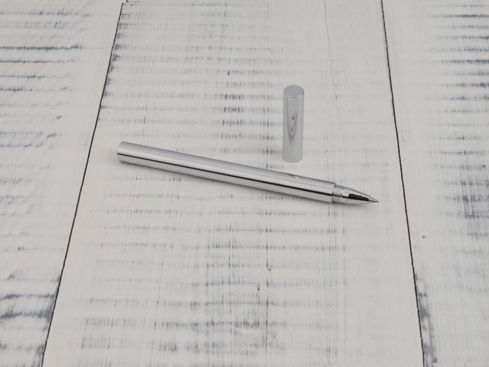 Ручка гелевая Перикл в подарочной коробке, серебристый