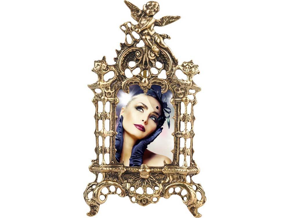 Фоторамка «Ангел-хранитель», золотистый