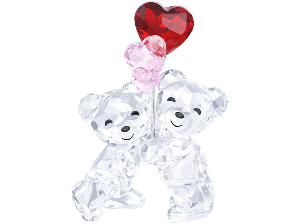 Медведь Kris «Шарики-сердечки». Swarovski
