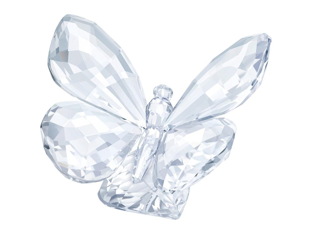 Бабочка на листе. Swarovski
