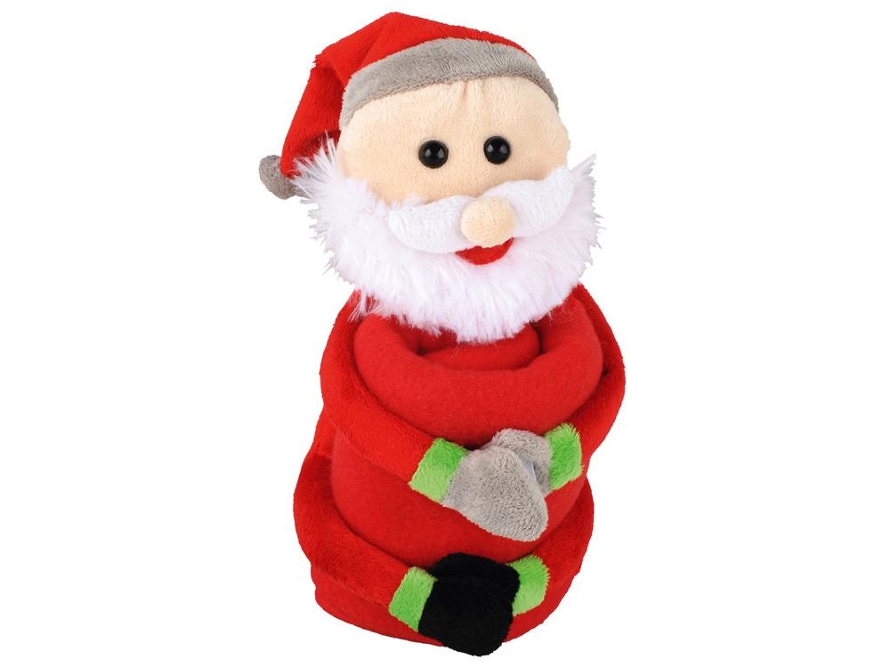 """Мягкая игрушка """"Дед Мороз"""" с пледом"""