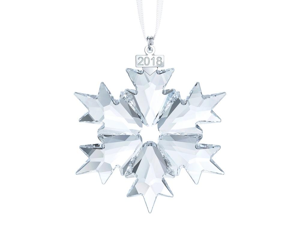 Новогоднее украшение «Снежинка». Swarovski