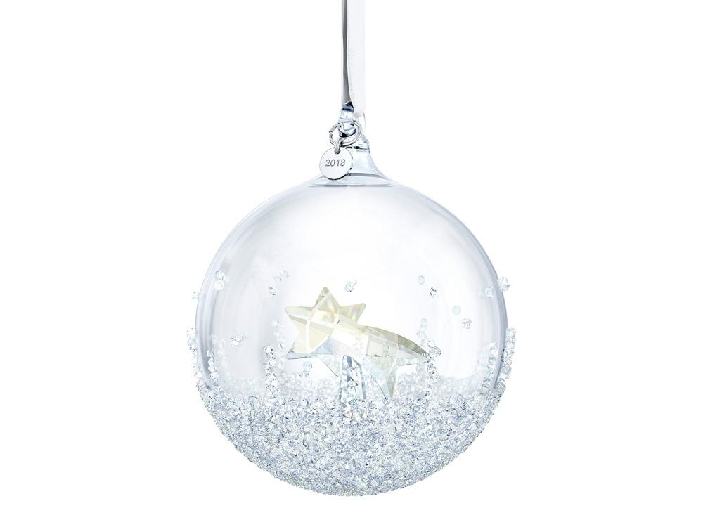 Новогоднее украшение «Шар». Swarovski