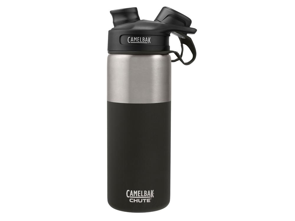 Термос CamelBak Chute Vacuum Insulated Stainless, 0,6л, черный/серебристый