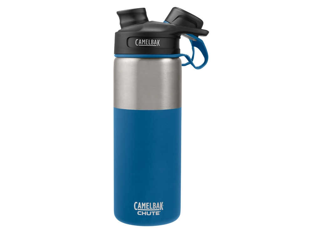Термос CamelBak Chute Vacuum Insulated Stainless, 0,6л, синий/серебристый