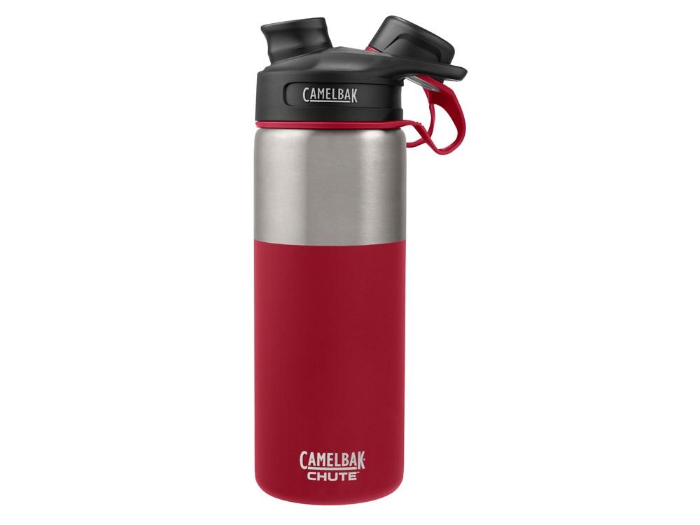 Термос CamelBak Chute Vacuum Insulated Stainless, 0,6л, красный/серебристый