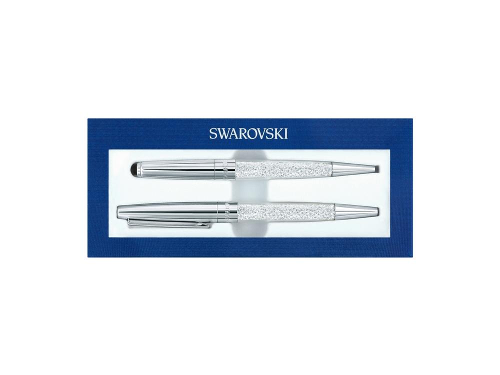 Набор Crystalline Stardust: ручка-стилус шариковая, ручка роллер. Swarovski