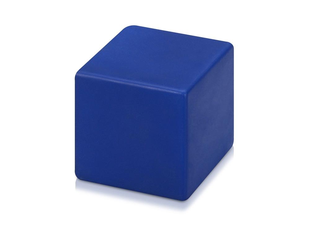 Антистресс «Куб», синий