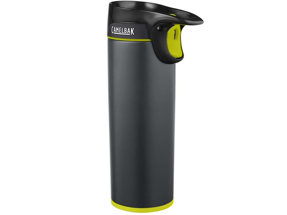 Термостакан CamelBak Forge Vacuum Insulated 0,5л, черный/зеленое яблоко